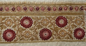 Tussur silk embroidery